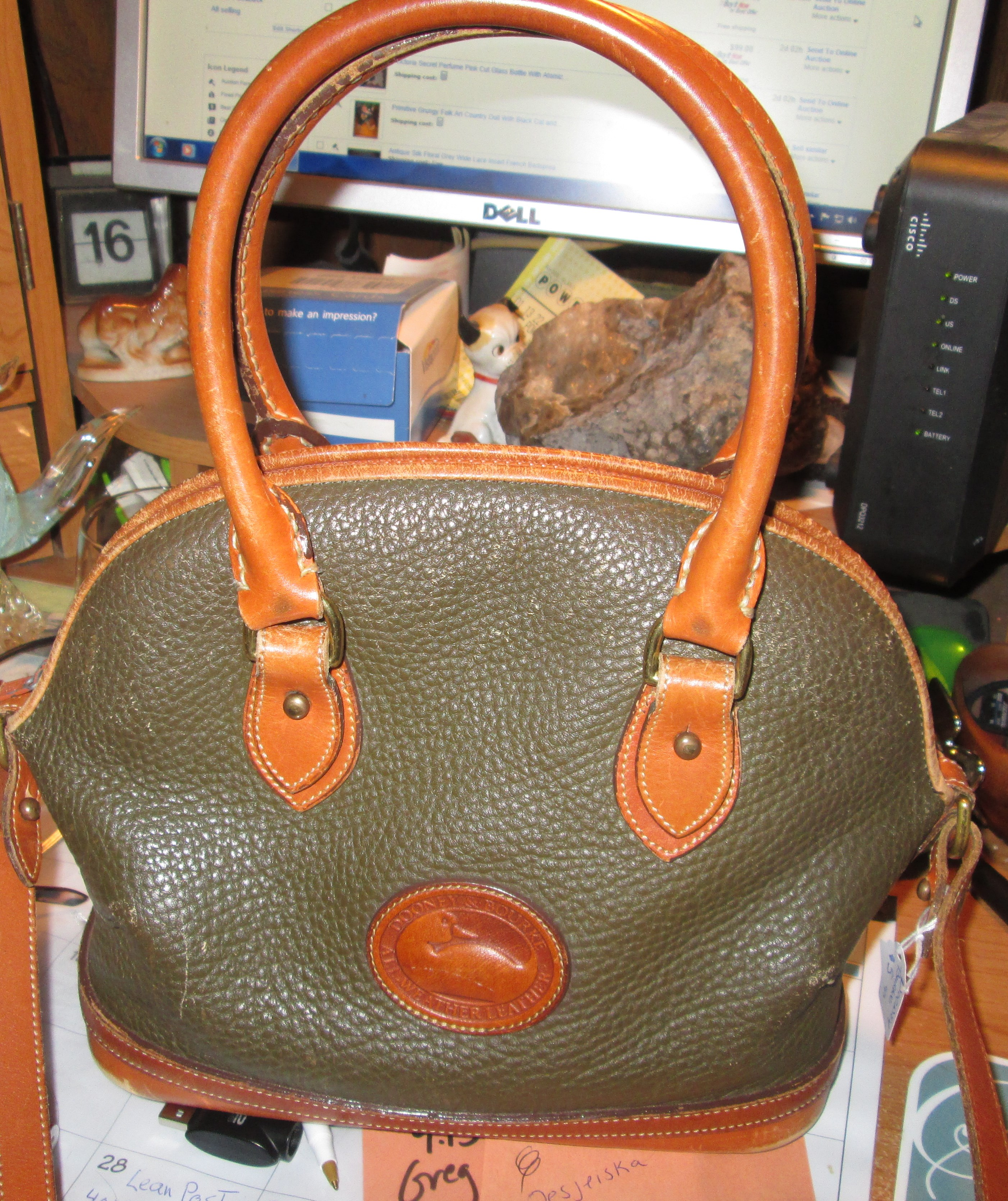 Vintage Dooney Bourke All Weather Leather Purse The Ebay Community