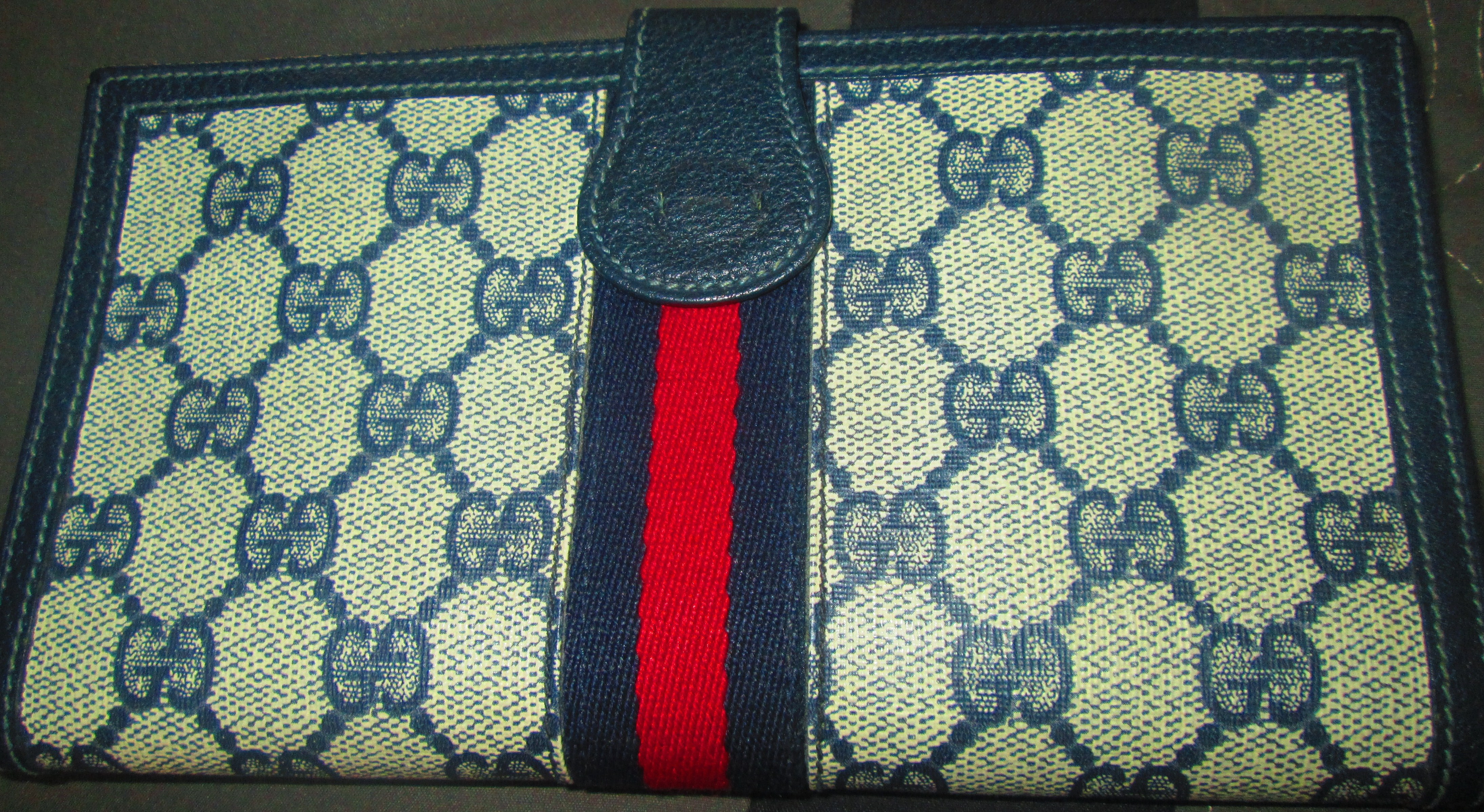 803bb0f6a4886d Help Authenticate This Vintage Gucci Wallet Real o... - The eBay ...