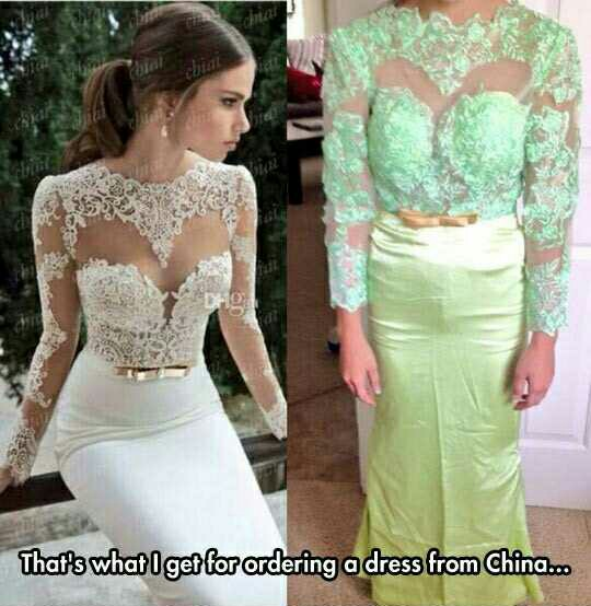 Custom Made Wedding Dress from China - The eBay Community