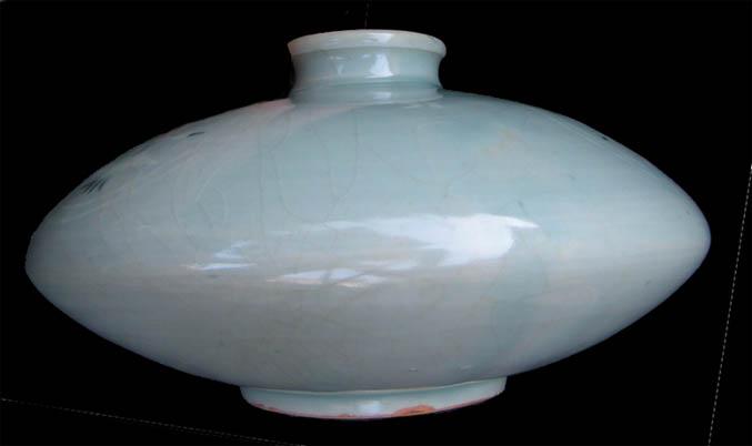 Help Id Celadon Vase Is It Korean Celadon New No The Ebay
