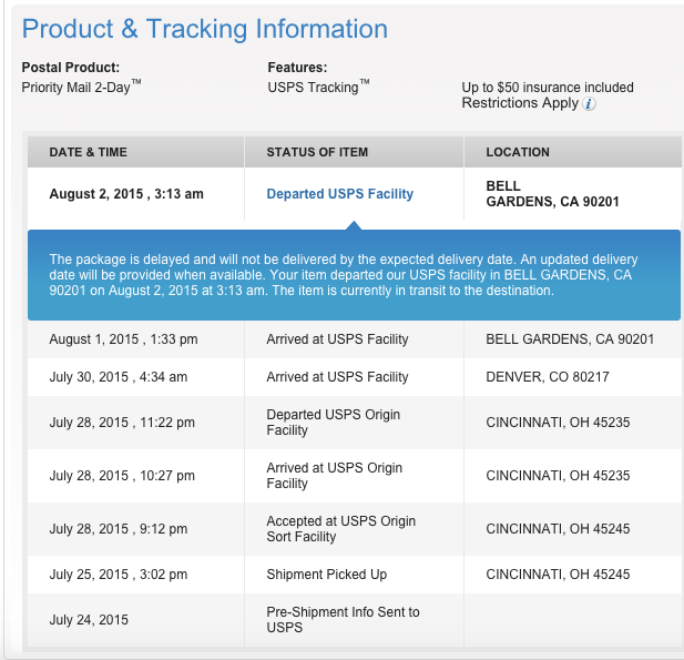 usps online chat notifications