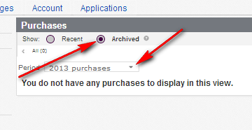 how do I locate an item in my purchase history? - The eBay