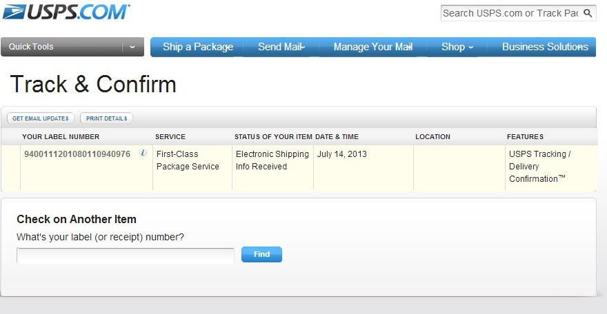 Solved: eBay will not accept Tracking Number - The eBay ...