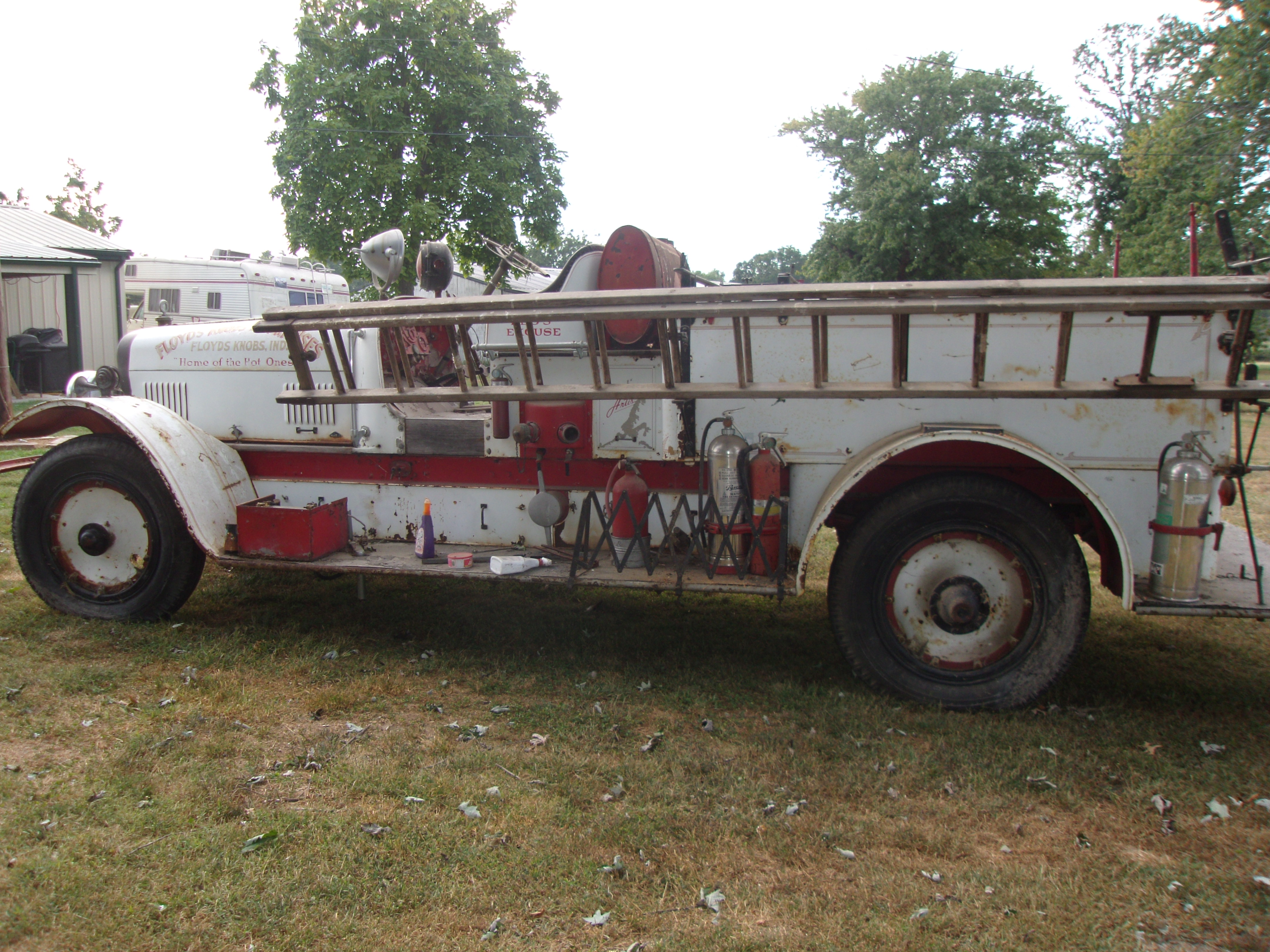 Best place to sell 1925 Firetruck. - The eBay Community