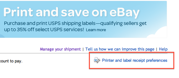 Using Avery 5126 5 12 X 8 12 Adhesive Labels The Ebay Community
