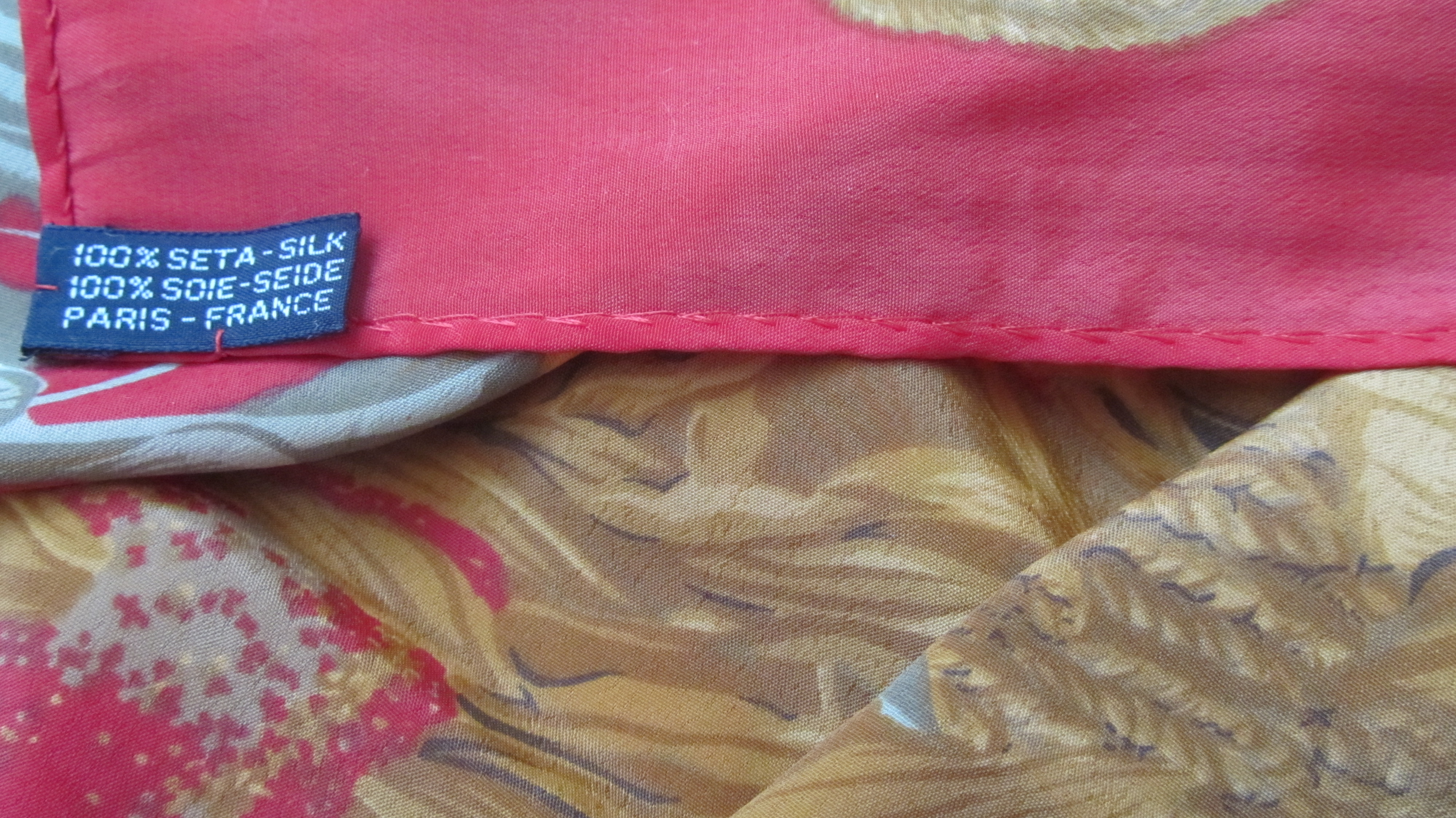 chanel scarf authentic or the ebay community