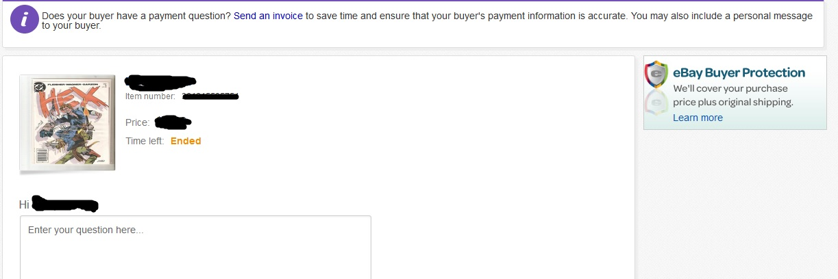 Ebay Doesnt Allow Sellers To Send Invoices Anymor The EBay - Send invoice to buyer ebay